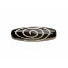 """Бусина Дзи """"Спираль Вселенной""""для гармонии вашей жизни помогает добиться максимума в жизни 3см"""