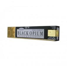 """Благовония Deepika  """"Black Opium-Черный опиум"""",15гр. блок 12шт."""