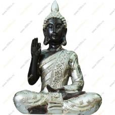Будда в серебряной одежде, 21 см