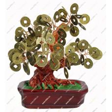 Денежное дерево, с монетками 15 см