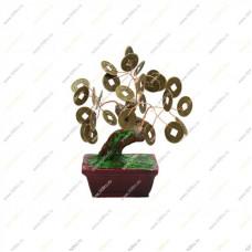 Денежное дерево с крупными монетами 11см