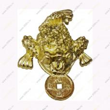 Кошельковая жабка с монетой (без аннотацией) 4 см.