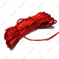 Красная нить, шелковая 5 метров.