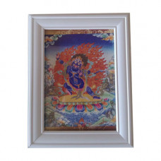 """Картина """"«Ваджрапани» означает держащий Ваджру, хранитель учений и богатства 17см"""