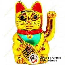 """Кот удачи и счастья """"Манеки-неко"""" 16 см."""