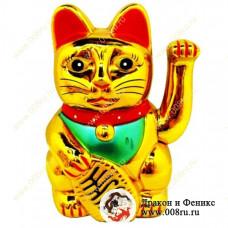 """Кот удачи и счастья """"Манеки-неко"""" 18 см."""