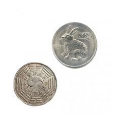 """Китайская монета счастья """"Кролик"""""""