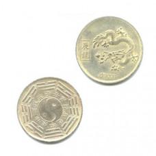 """Китайская монета счастья """"Дракон"""""""