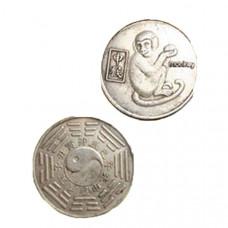 """Китайская монета счастья """"Обезьяна"""""""