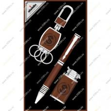 """Подарочный набор 3 в 1 """"Доллары"""" с ручкой"""